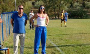 Μία... γυναικάρα στον πάγκο ανδρικής ποδοσφαιρικής ομάδας στις Σέρρες