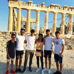 Στην Αθήνα ο Ζιντάν με την οικογένεια του!