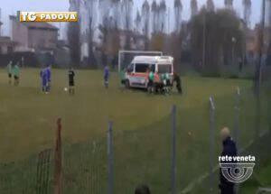 Ασθενοφόρο που παρέλαβε ποδοσφαιριστή... έμεινε από καύσιμα! (vid)